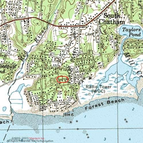 Pleasant Forest Shores cottages  South Chatham MA  Cape Cod  1